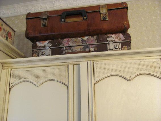 старый чемодан шебби шик декупаж
