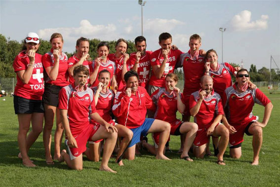The Swiss Mixed Team was crowned Mainland Champion defeating France 8:7