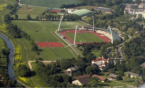 Areal View of Rudolf Tonn Stadion 1