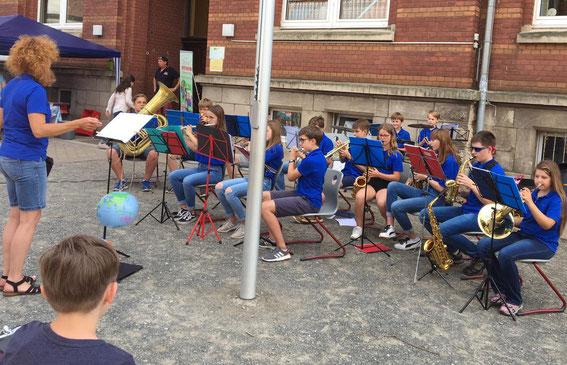 Nicolaischulfest Kinderorchester Ltg. Matascha Haier 22.6.2019
