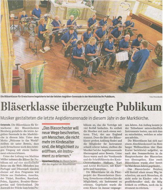 Harzkurier, 12.08.2014