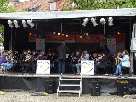 Unser Auftritt bei den 3 freundlichen Tagen Osterode am 29.6.2014