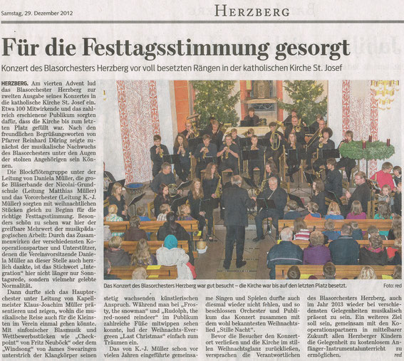Harzkurier, 29.12.2012