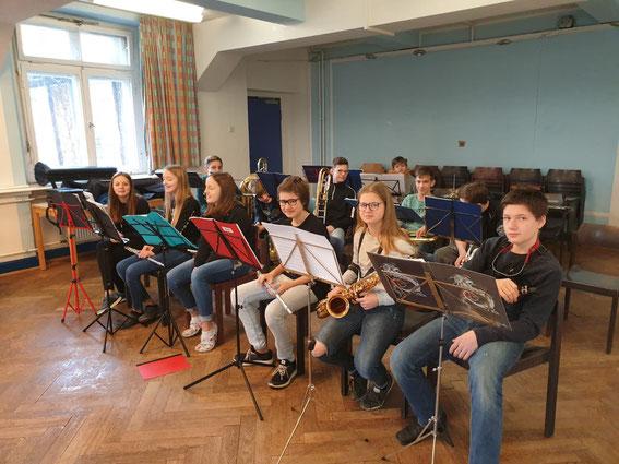 Kinderorchester Probenwochenende Helmarshausen 17.2.2019