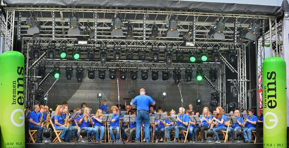 Seestadtfest Bremerhaven 28.05.2016 Radio Bremen Bühne
