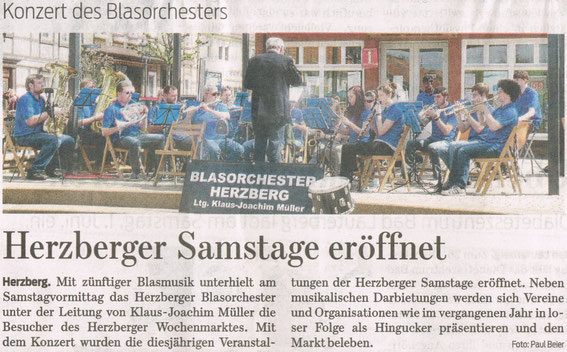 Harzkurier, 8.5.2013