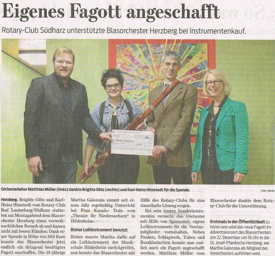 Harzkurier, 6.12.2013