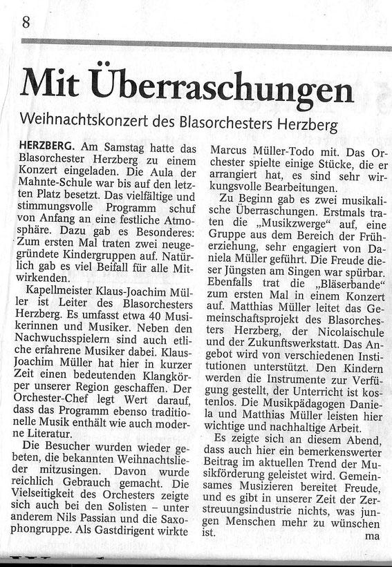 Harzkurier, 24.12.2010