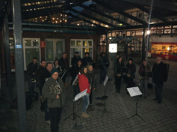Nach den Weihnachtsliedern für den Kneippverein noch welche für unsere Stadt - 14.12.2013