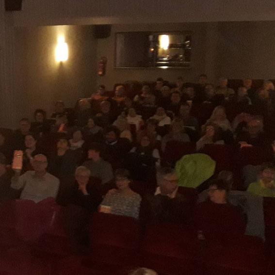 gemeinsamer Kinobesuch - ein Saal nur für uns!