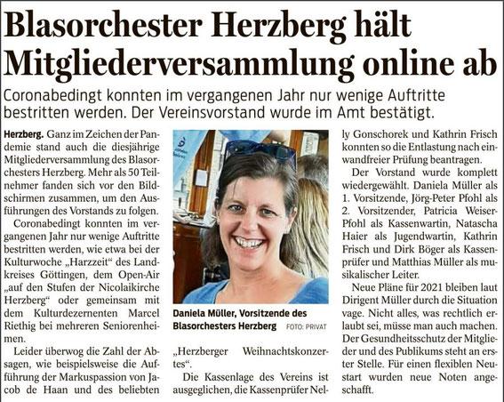 Harzkurier, 18.02.2021