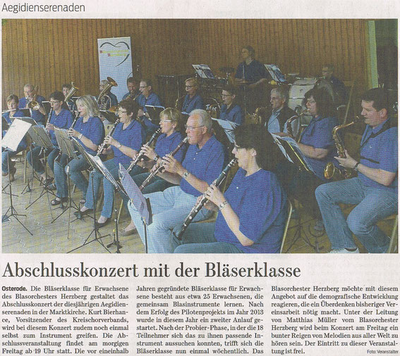 Harzkurier, 17.07.2014