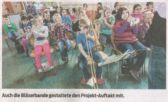 Harzkurier, 16.05.2013 Auftaktveranstaltung Schule+Zeitung in der Nicolaischule