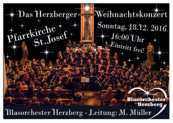 Herzliche Einladung zu unserem Konzert