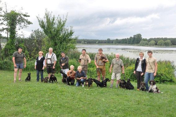 Urlaubstimmung und Jagdhundetreffen in Ungarn