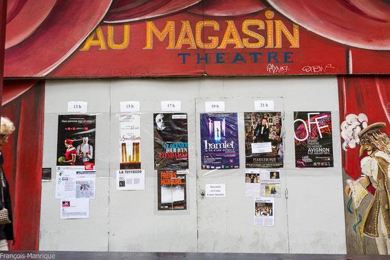 Le Semeur d'allumettes Avignon off 2014