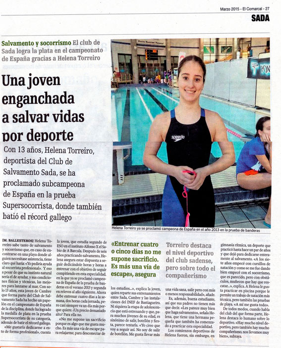 Suplemento Comarcal de La Voz de Galicia 05-03-15