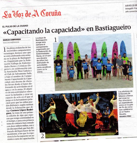 La Voz de Galicia 25-06-15