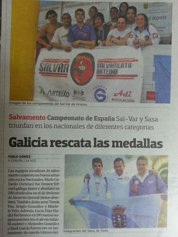 La Voz de Galicia 28-03-13