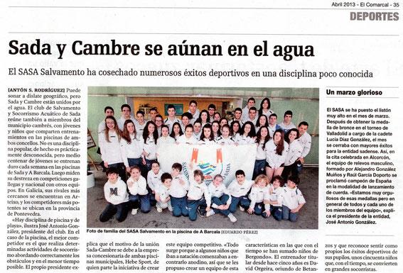 El Comarcal de La Voz de Galicia 04-04-13
