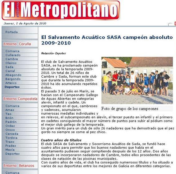 05-08-10 También en El Metropolitano.