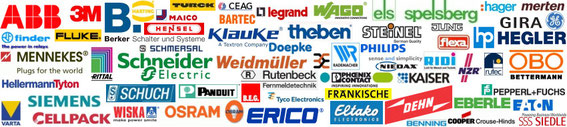 European electrical distributor and brands