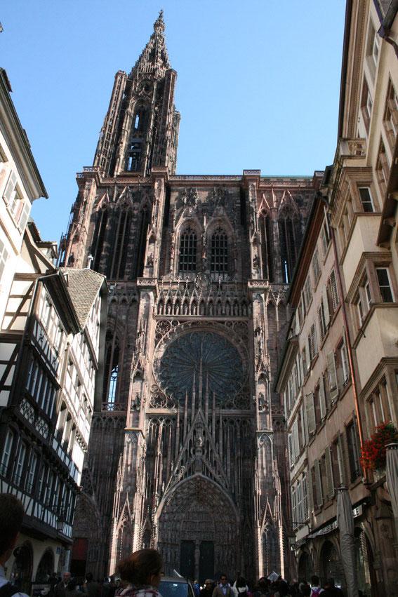 Straßburger Münster - Vorderansicht