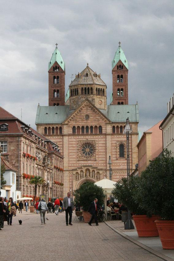 Kaiserdom zu Speyer - Vorderansicht