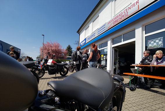 Saisonstart 2017 bei Triumph Dreispitz