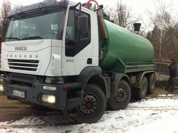 Gülle LKW Iveco Trucker