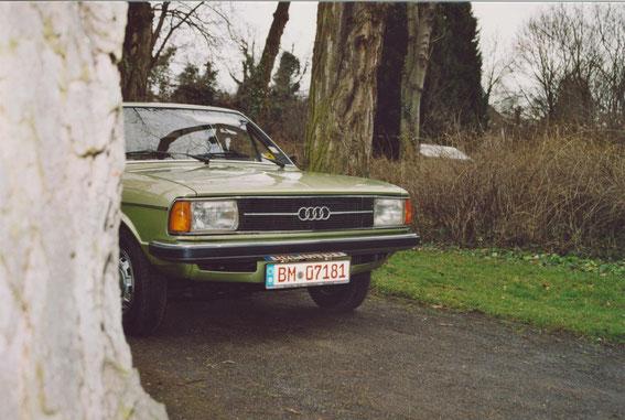 Audi 80 LS von 1977, original 40000 km