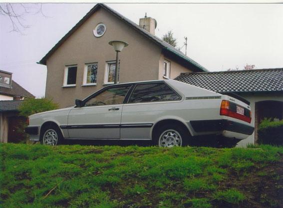 Audi Coupe GT 5S von 1981, noch heute in meinem Besitz