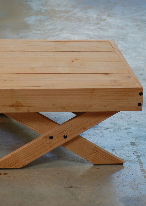 table basse bois made in france