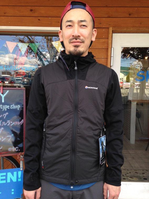 MONTANE(モンテイン)Alpha Guide Jacket (Black) ¥25920(税込)