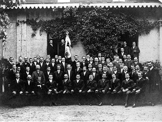 der Chor um 1900