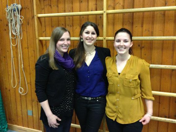 Sportlerehrung am 15.03.2013 in Donauwörth - Jasmin, Anna-Lena und Lisa