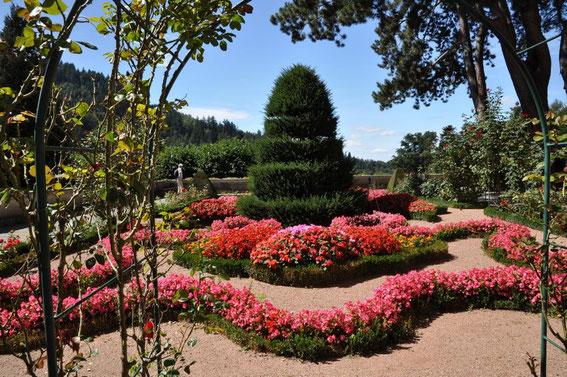 Garten des Klosters in Günterstal/ Freiburg