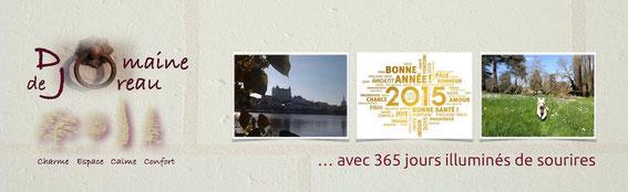 Domaine de Joreau - Gästezimmer und Ferienhäuser an der Loire, Saumur, Angers