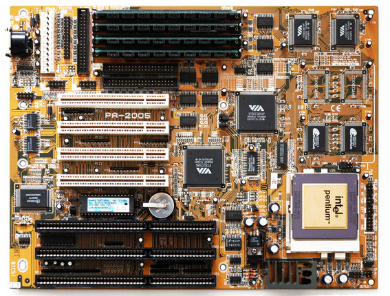 FIC PA-2005 Motherboard with Intel Pentium 90 MHz