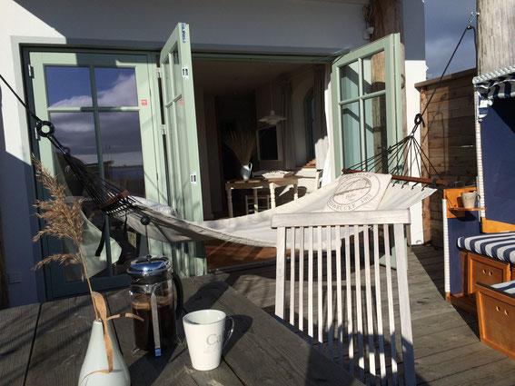 Strandhaus-Fehmarn II, Ihr Captains-Deck zum Abhängen