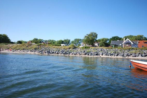 Strandhaus-Fehmarn II, aus der Seehundperspektive