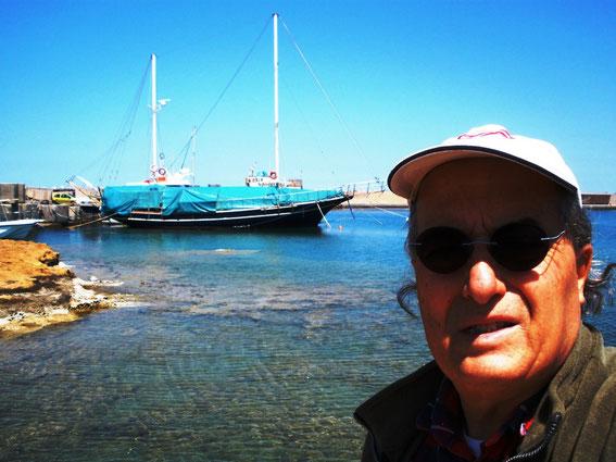 Malia harbour - Crete Island - Greece
