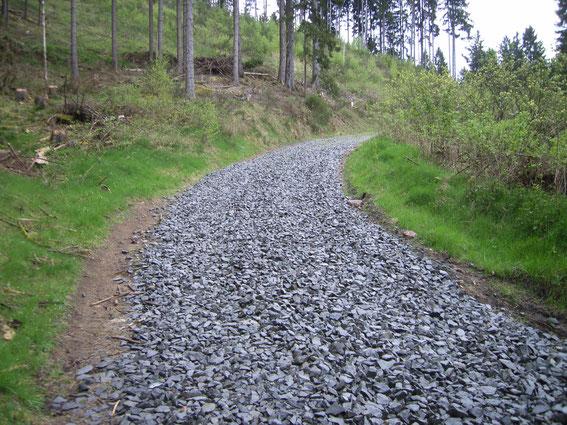 Ein sehr steiniger Weg