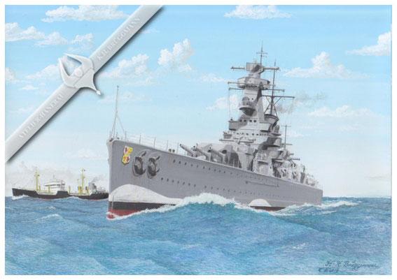 """""""Graf Spee"""" - Troßschiff """"Altmark"""""""