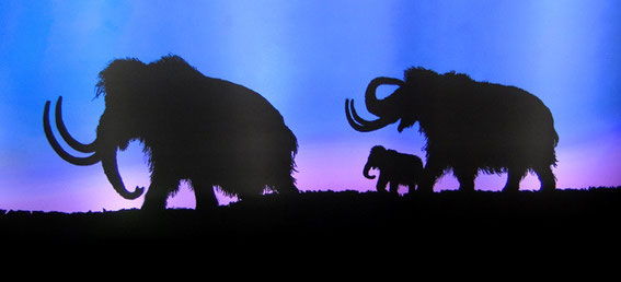Mammoths in the Blue