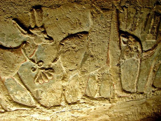 Relief Elefant - Grab Petosiris