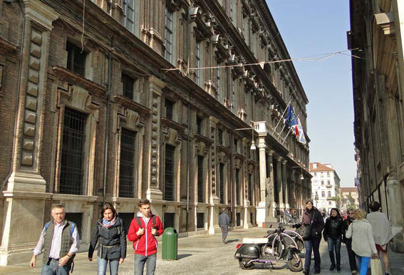 The Museo Egizion - the Egyptian Museum of Turin