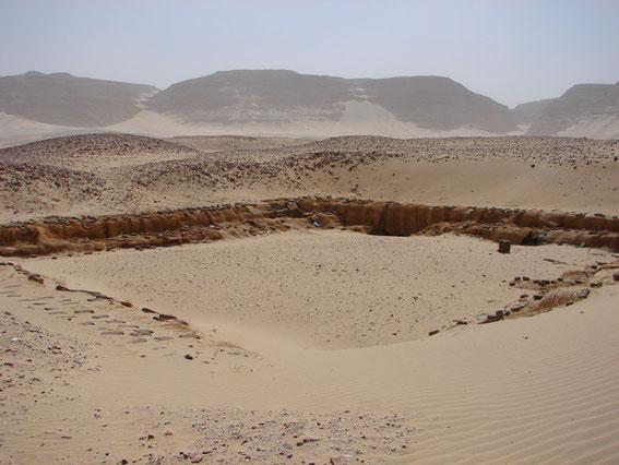 Abydos, Grab