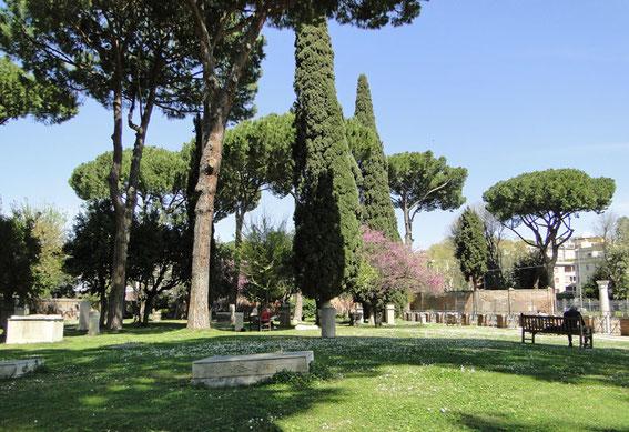 Friedhofsgelände