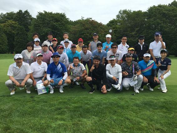 第4回J-REC北海道支部ゴルフコンペ 集合写真